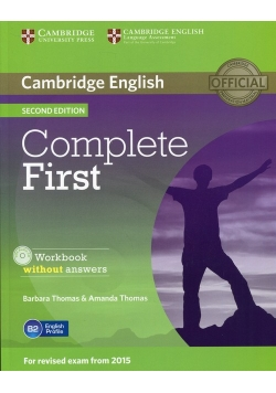 Complete First Workbook without Answers z płytą CD