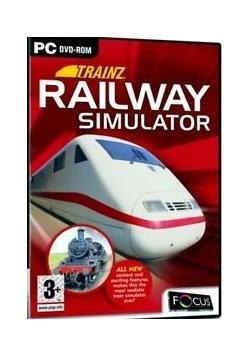 Railway Simulator,płyta DVD-ROM