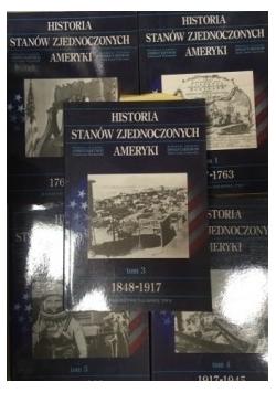 Historia Stanów Zjednoczonych Ameryki, 5 książek
