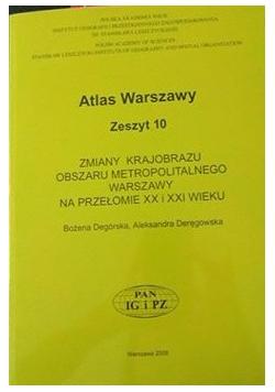 Atlas Warszawy Zeszyt 10