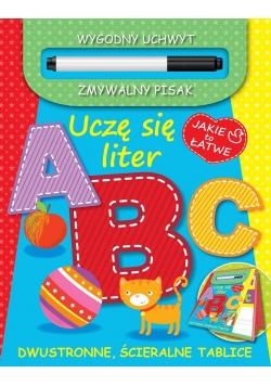 Uczę się liter A B C