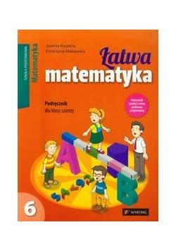 Łatwa matematyka 6. Podręcznik