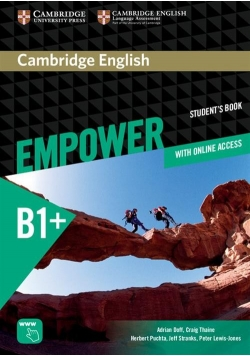 Cambridge English Empower Intermediate Student's book with online access