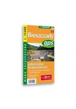 Mapa Turs. Bieszczady / Pogórze Przemyskie DEMART