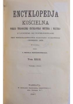 Encyklopedia Kościelna TOM XIX , 1893 r.