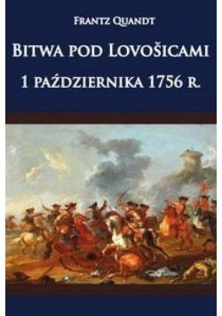 Bitwa pod Lovosicami 1 października 1756 roku
