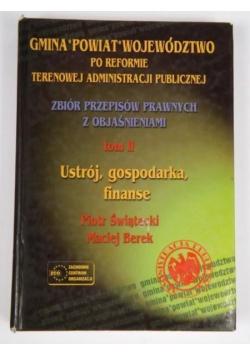 Gmina powiat województwo po reformie terenowej administracji publicznej, Tom II