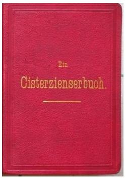 Ein cisterzienserbuch, 1881 r.