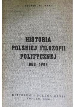 Historia polskiej filozofii politycznej