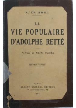 Vie populaire, 1937 r.