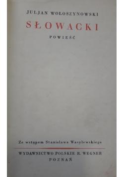 Słowacki , 1929 r.