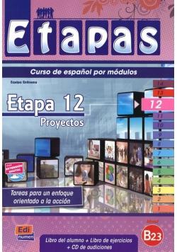 Etapas 12 Podręcznik + ćwiczenia + CD