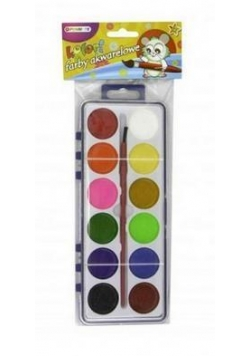 Farby akwarelowe 12 kolorów PENMATE