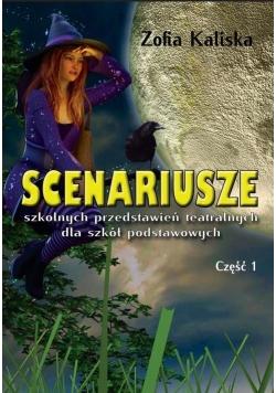 Scenariusze szkol. przed. teatralnych dla SP cz.1