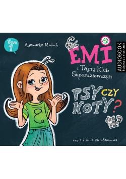 Emi i Tajny Klub Superdziewczyn Psy czy koty Seria 2 Tom 1 CD