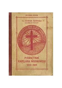 Z dziennika kapelana wojskowego 1914 - 1918, 1926 r.