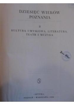 Dziesięć wieków poznania, tom II