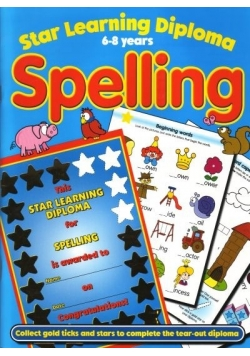 Star learning diploma 6-8 years Spelling