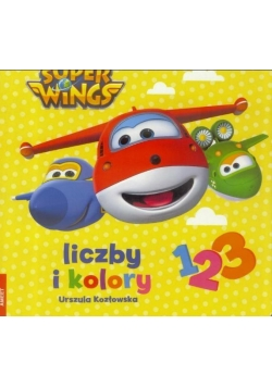 Super Wings. Liczby i kolory
