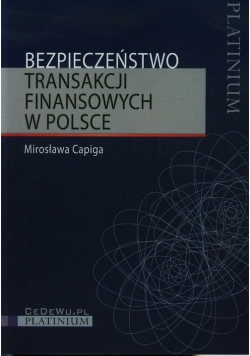 Bezpieczeństwo transakcji finansowych w Polsce
