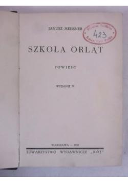 Szkoła orląt, 1934 r.