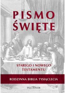 Biblia Tysiąclecia rodzinna biała