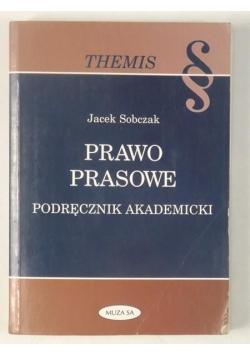 Sobczak Jacek - Prawo prasowe