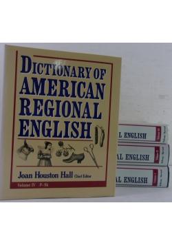 Dictionary of American Regional English, Tom I-IV