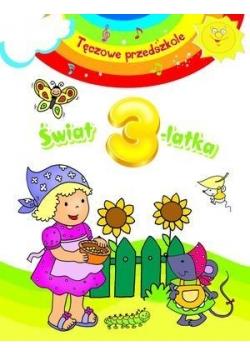 Tęczowe przedszkole - Świat 3-latka