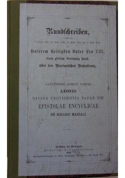 Rundschreiben,1899 r.