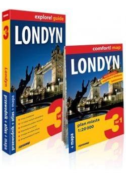 Explore!guide Londyn 3w1 Przewodnik Wyd.III