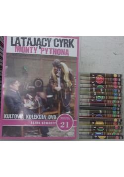 Latający Cyrk Monty Pythona, zestaw 19 płyt DVD