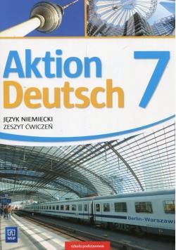 Aktion Deutsch Język niemiecki 7 Zeszyt ćwiczeń