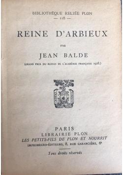 Reine D'Arbieux, 1928 r.