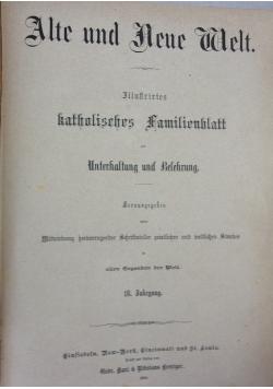 Alte und Neue Welt ,1884r.