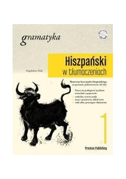 Hiszpański w tłumaczeniach Gramatyka Część 1+CD