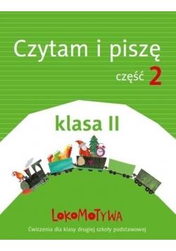 Lokomotywa 2 Czytam i piszę cz.2 w.2018 GWO