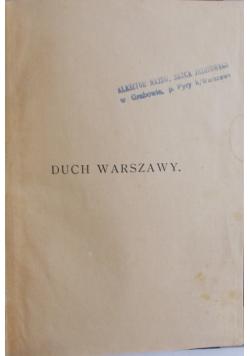 Duch Warszawy, 1921 r.