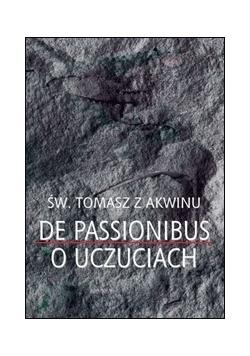 De passionibus o uczuciach