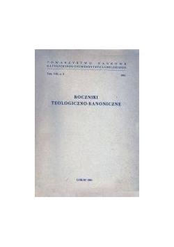 Roczniki teologiczno - kanoniczne, tom VIII
