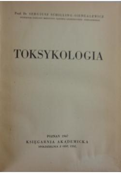 Toksykologia, 1947 r.