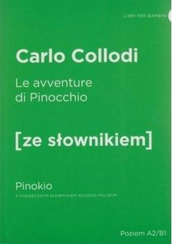 Pinokio w.włoska + słownik A2/B1