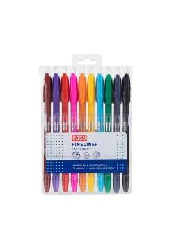 Cienkopis 10 kolorów EASY