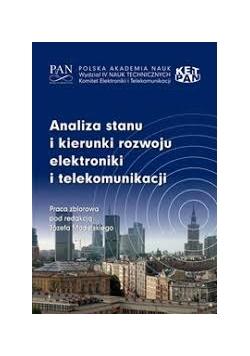Analiza stanu i kierunki rozwoju elektroniki i telekomunikacji