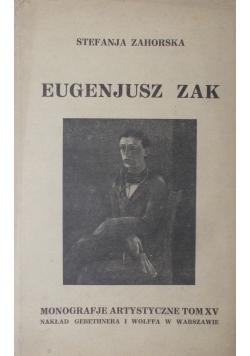 Eugeniusz Zak , 1927 r.