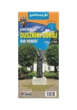 Plan miasta - Duszniki-Zdrój 1:10 000