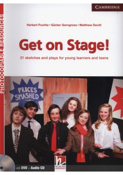 Get on Stage! Teacher's Book + DVD + CD