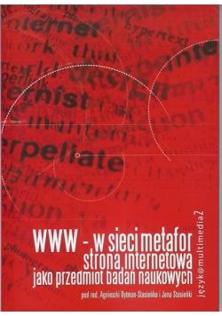 WWW-w sieci metafor strona internetowa jako przedmiot badań naukowych