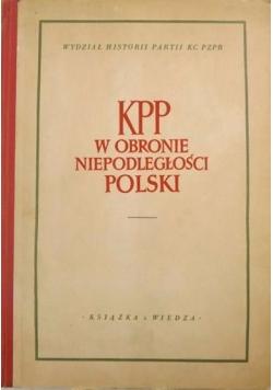 KPP w obronie niepodległości Polski
