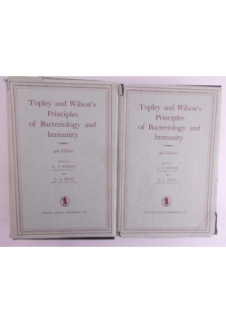 Topley and Wilson's Principles of Bacteoriology and Immunity vol 1-2